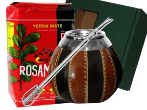 yerba rosamonte bombilla zestaw