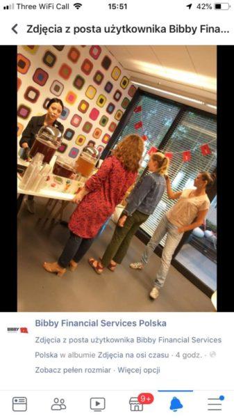 bibby financial services skorzystali z yerba day yerba mama w warszawie